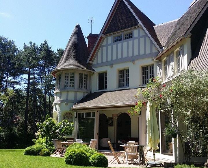 Villa Haec Otia: an elegant guest house getaway in Le Touquet