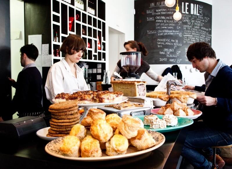 Brunch à l'anglaise et square pour les enfants au Bal Café (Paris 75018)