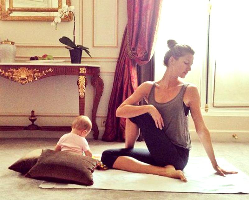 Pilates + yoga, l'équation parfaite pour retrouver son corps après la grossesse