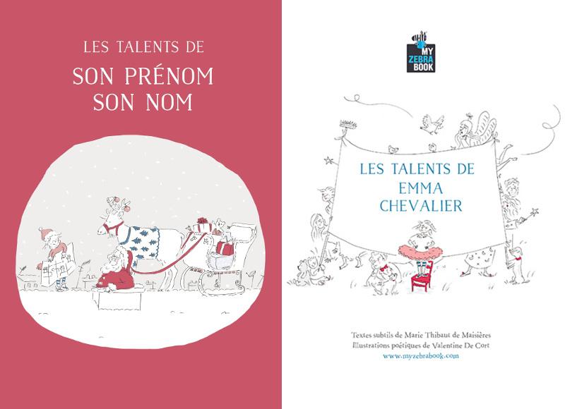 Idée cadeau: un livre personnalisé pour illustrer tous les talents de nos enfants