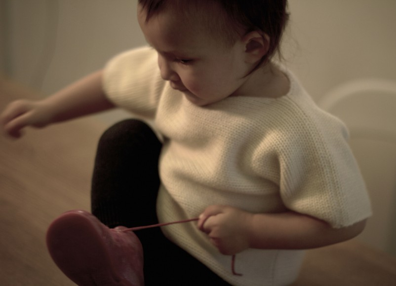 Un pull doudou en cachemire pour ses deux premières années