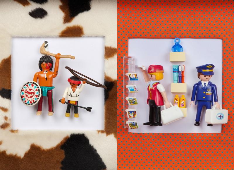 Mobilisation générale: Charlotte Schneider voit la vie en Playmobil