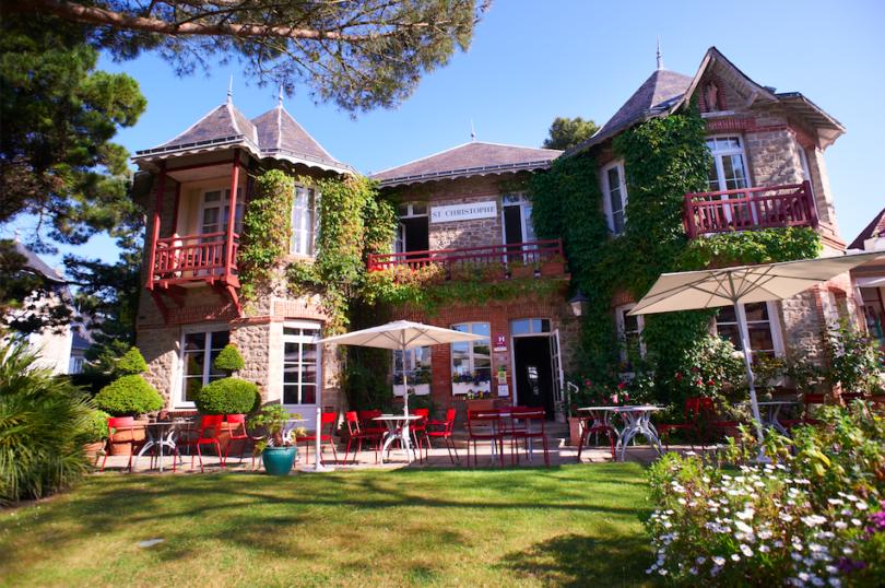 Hôtel Saint-Christophe: un air de maison de famille à La Baule