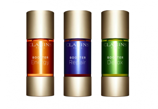 les boosters clarins
