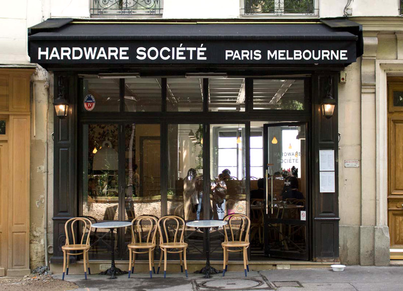 Hardware Société: un brunch comme à Melbourne sur la Butte Montmartre (Paris, 75018)