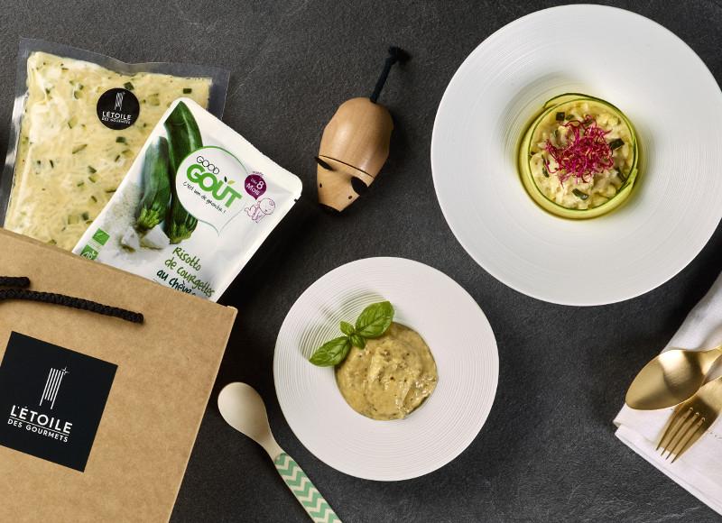 Good Goût x l'Étoile des Gourmets: des plats de chef livrés pour petits et grands