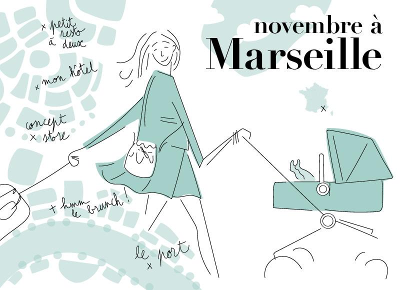 Marseille en famille: le city-guide de Maëva et de ses jumelles by Bugaboo
