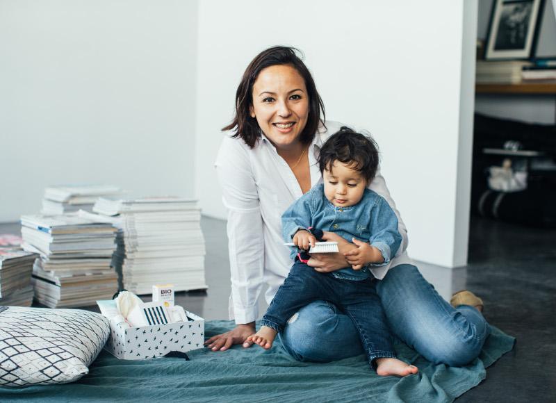 Confidences de maman: Sarina Lavagne, créatrice de Prescription Lab