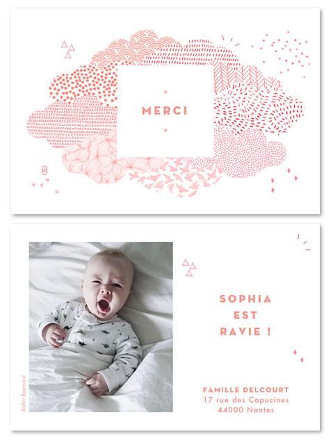 Les plus jolies cartes de remerciement pour un cadeau de naissance