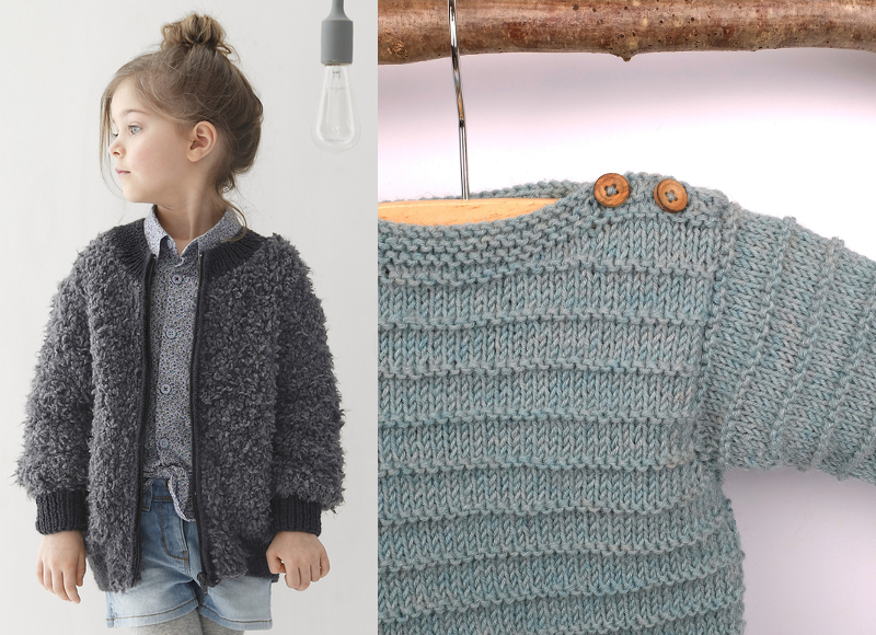 Où trouver des modèles de tricot modernes pour les enfants   - Les ... 3a55378737f