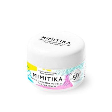 Crème solaire visage SPF50, Mimitika