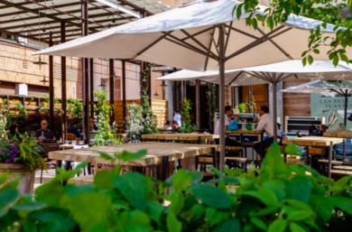 Les Belles Plantes restaurant