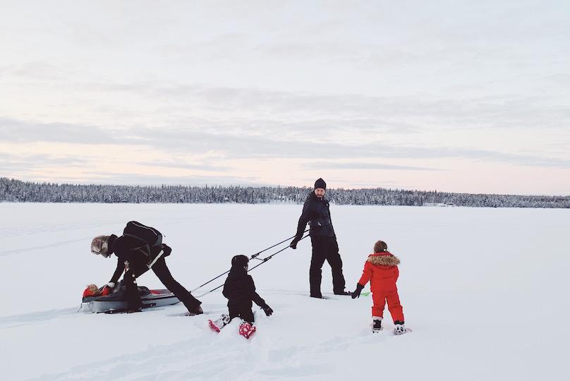La Laponie en famille: carnet de voyage pour un séjour magique