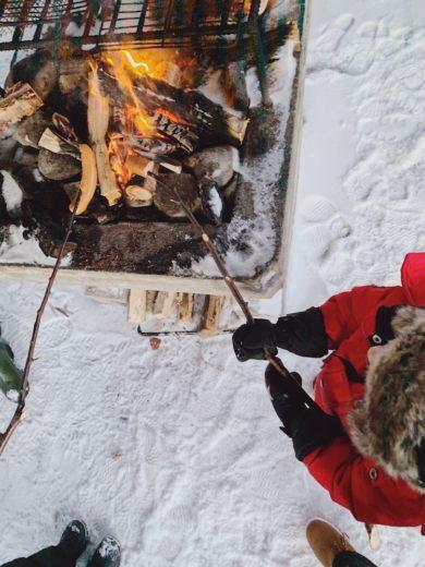 Laponie-feu-chamallows