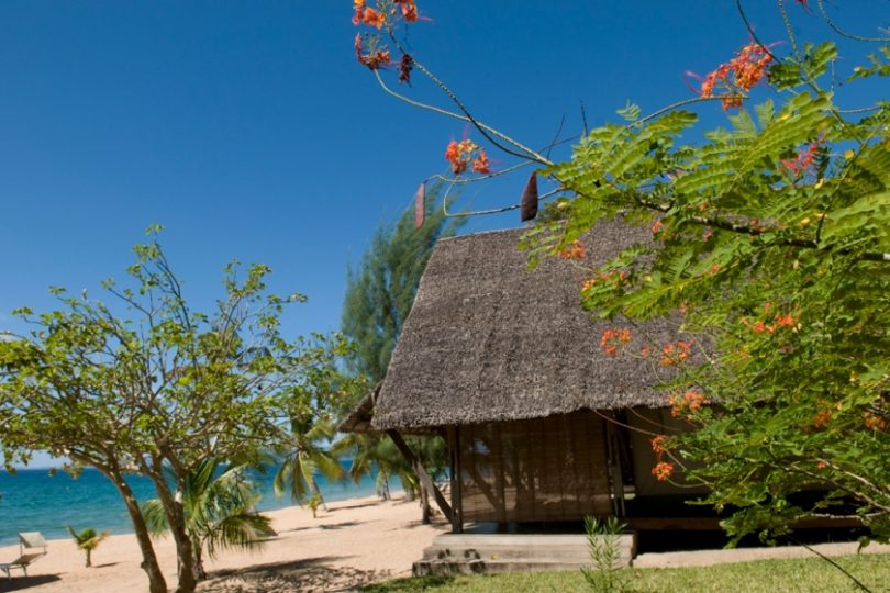 Eden Lodge : The beach with baobab trees in Madagascar
