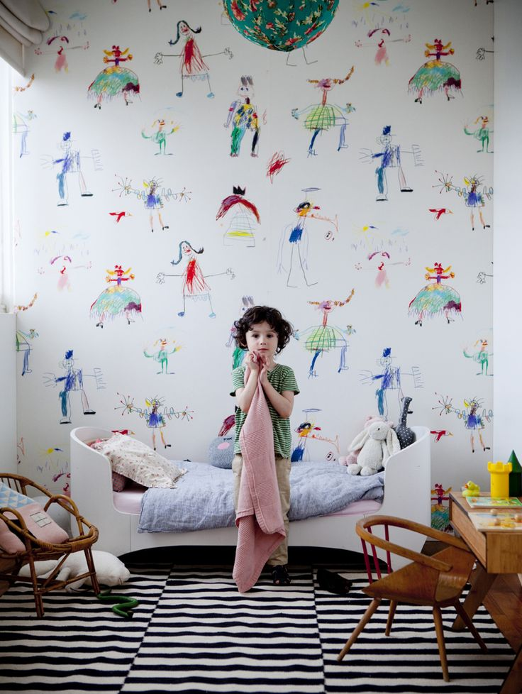 Les plus jolis papiers peints pour chambre d'enfant