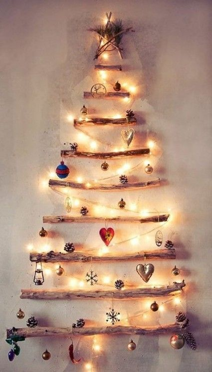 DIY Christmas Trees : Holiday Inspiration