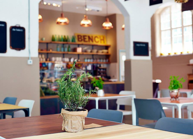 A light, fresh lunch at The Bench, Clerkenwell, London
