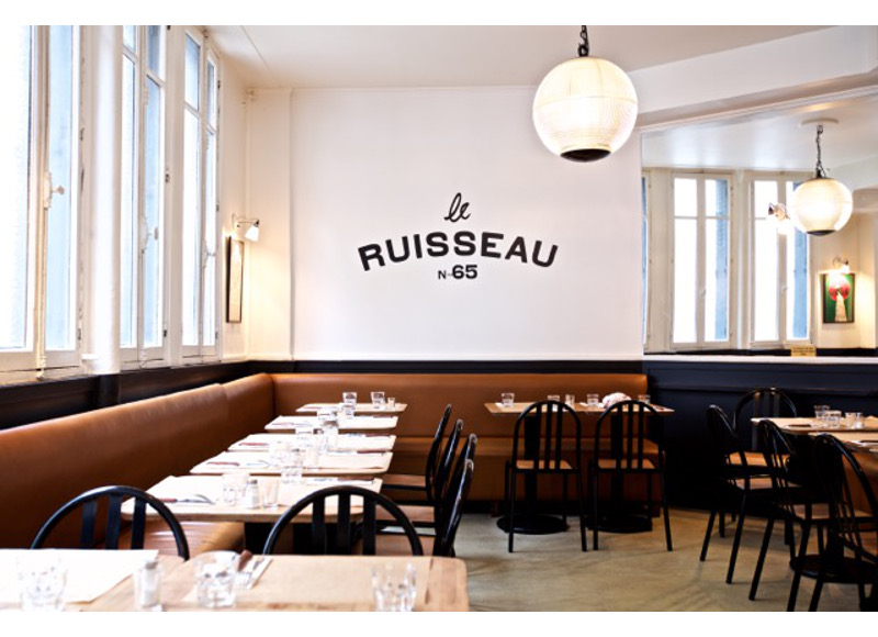 Eggs Benedict or a club sandwhich? Brunch at Ruisseau in Paris' 18th