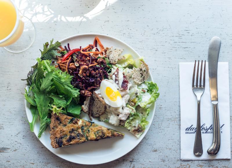 Daylesford, le concept-café bio et gourmand. Pimlico Road, Londres