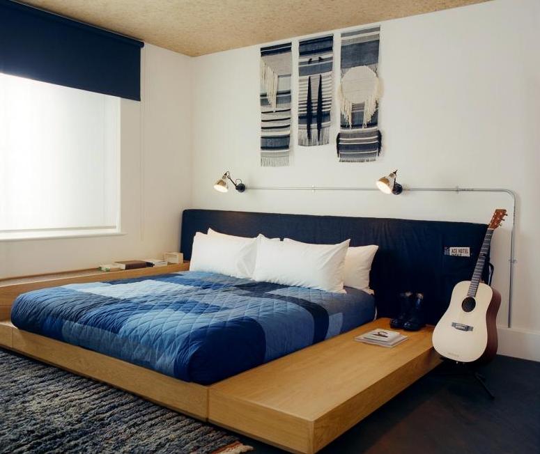 Chambres urbaines et minimalistes au Ace Hotel