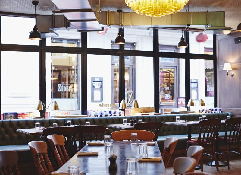 Jamie's Italian : Les kids ont leur table à Picadilly