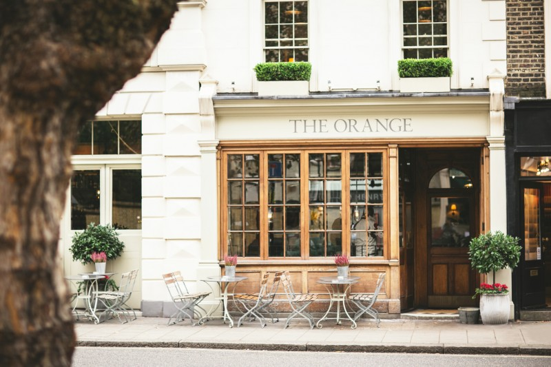 The Orange Hotel: chic pied-à-terre in London in the heart of Belgravia