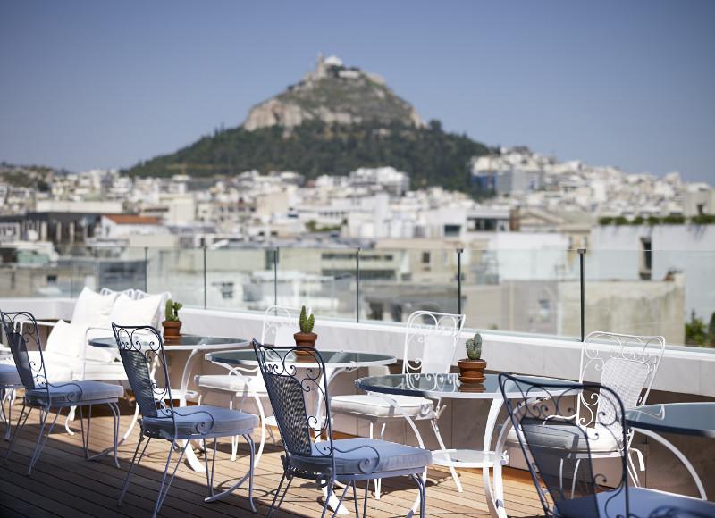 New Hotel : un boutique hôtel design et ludique en famille à Athènes