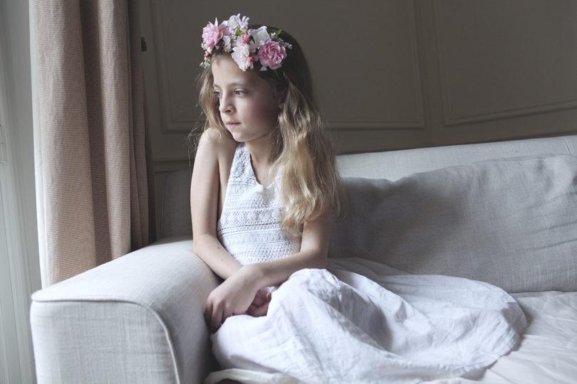 DIY : Jolies couronnes de fleurs pour petite fille d'honneur