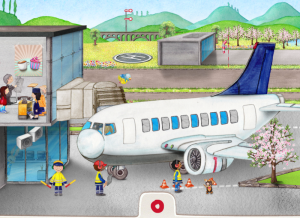 Application mini aeroport