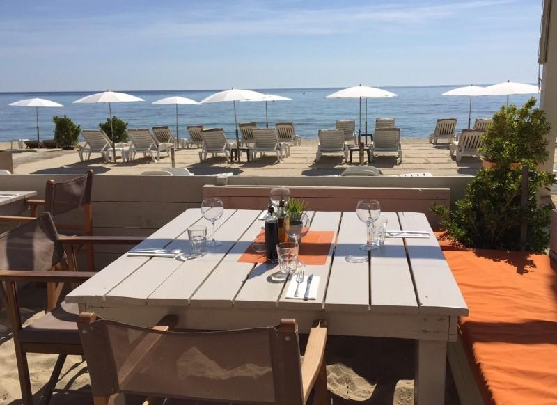 L'Orangerie: la plage privée des familles à Pampelonne, Ramatuelle