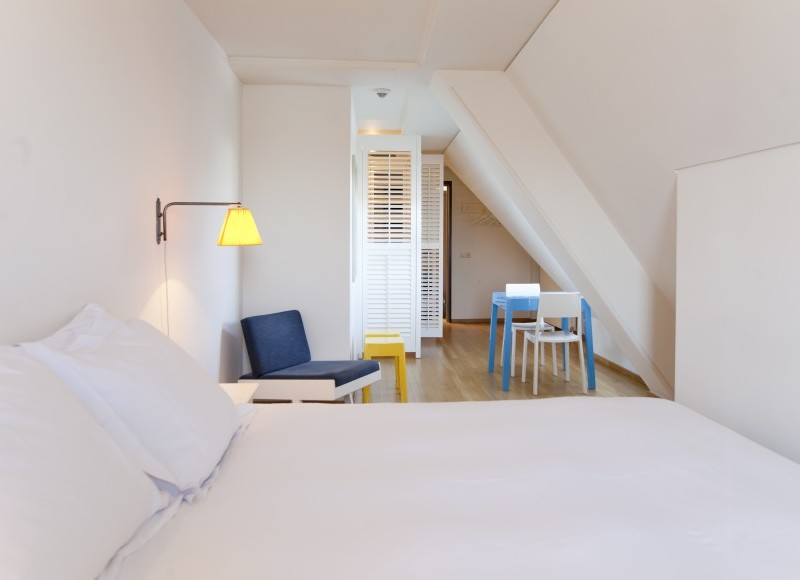 Chic design and family rooms at Lloyd Hotel, Amsterdam