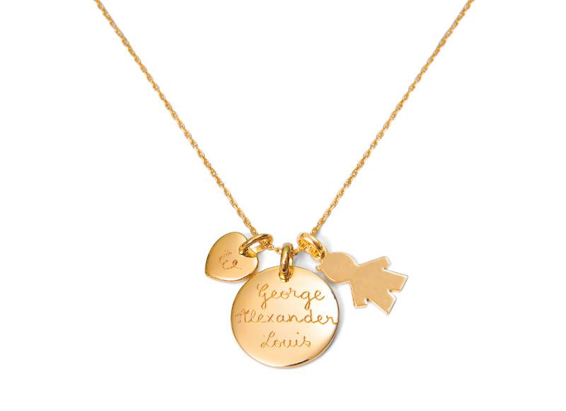 Un joli cadeau personnalisé, le collier «Kate» de Merci Maman