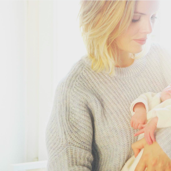 An interview about beauty and pregnancy with Mathilde Lacombe, founder of Birchbox