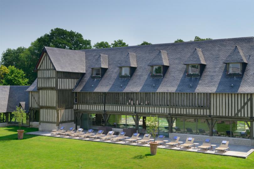 La Normandie en famille aux Manoirs de Tourgéville, Deauville