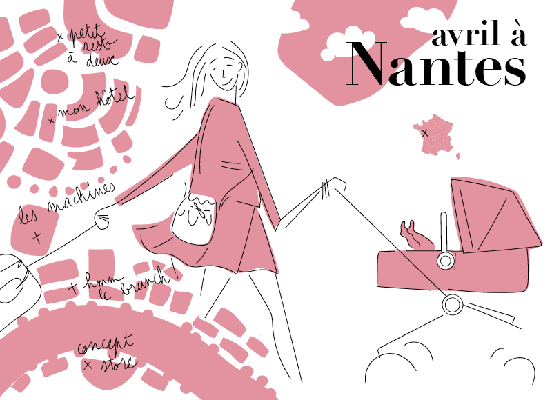 Nantes en famille : le city guide kids friendly de Julie Flamingo by Bugaboo