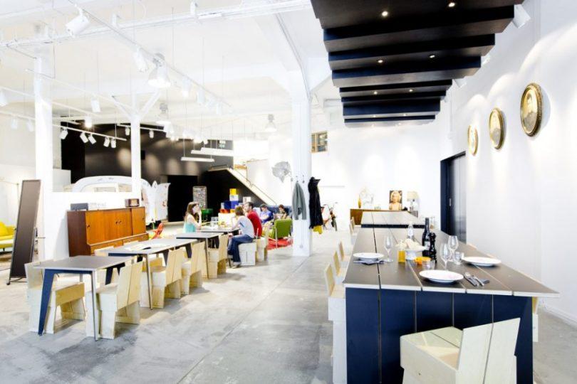 Le Garage à manger: family brunch in Brussels
