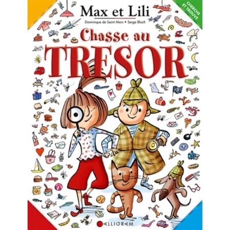 Max et lili-chasse-tresors