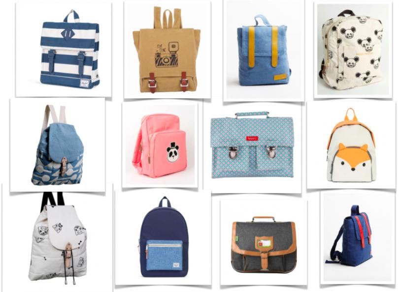 Les plus jolis cartables et sacs à dos pour la rentrée 2016