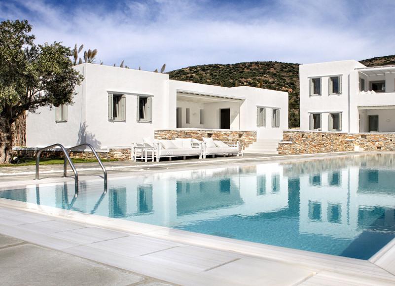Une villa 5 étoiles pour les familles nombreuses à Sifnos (Grèce)