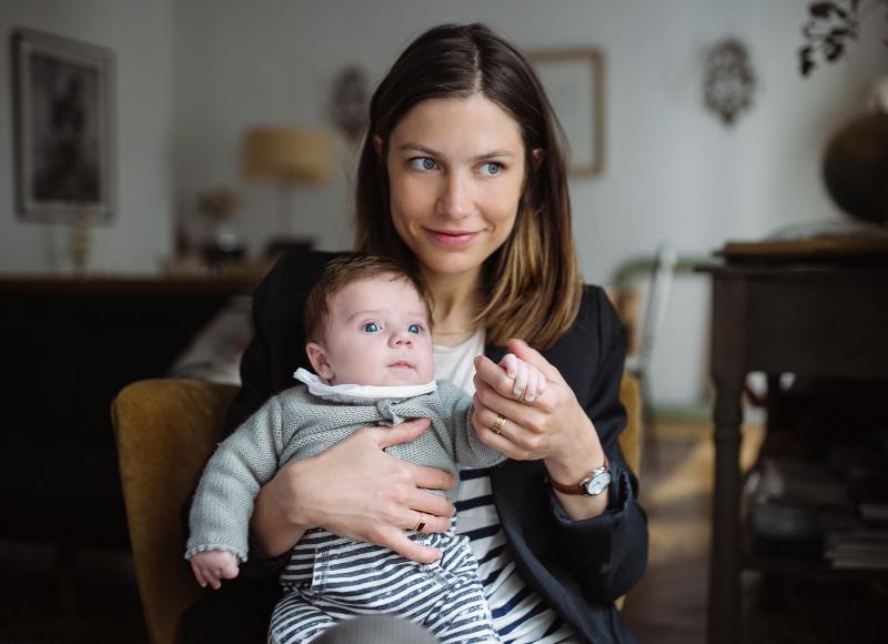 Confidences de maman: la nouvelle vie de Laure de Sagazan