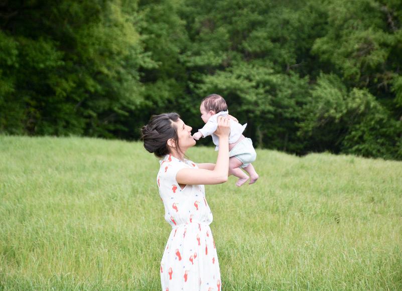 Confidences de maman: l'été d'après avec Céline, du blog lesmotsailés.fr