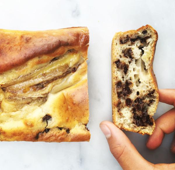 Recette facile : le Banana bread aux pépites de chocolat
