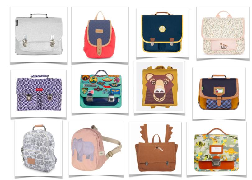Les plus jolis cartables et sacs à dos pour la rentrée 2017