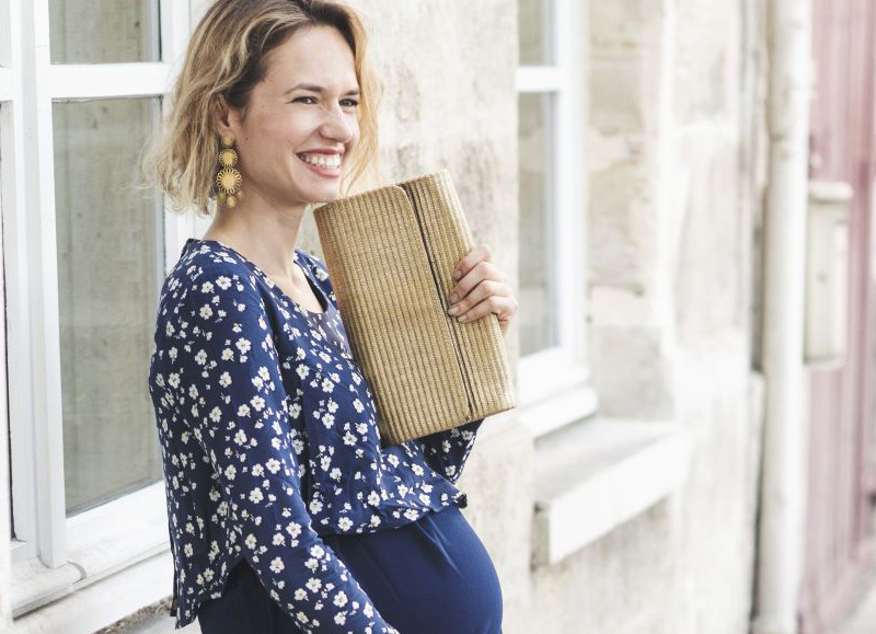 Neuvième Ciel: elegant maternity clothes, made in France