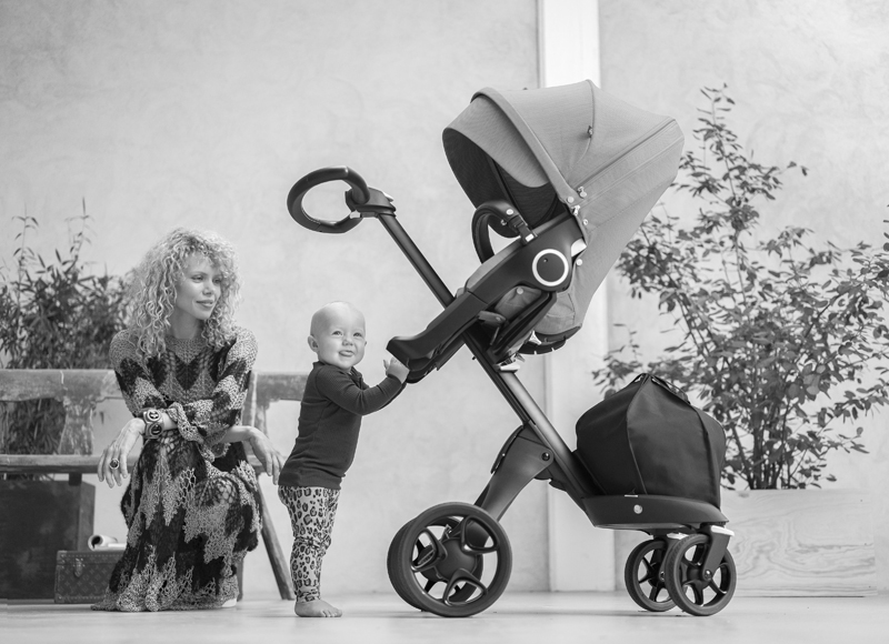 I tested the new Xplory stroller from Stokke