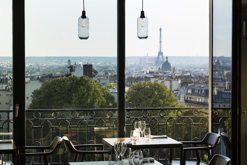 Terrass Hôtel: un brunch au septième ciel à Montmartre (75018 Paris)