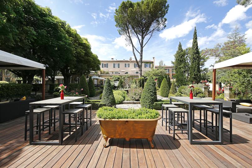 Hôtel le Pigonnet: un jardin dans la ville à Aix-en-Provence