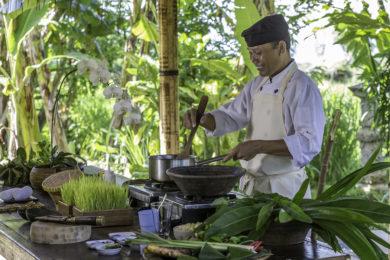 Alila Manggis cuisine