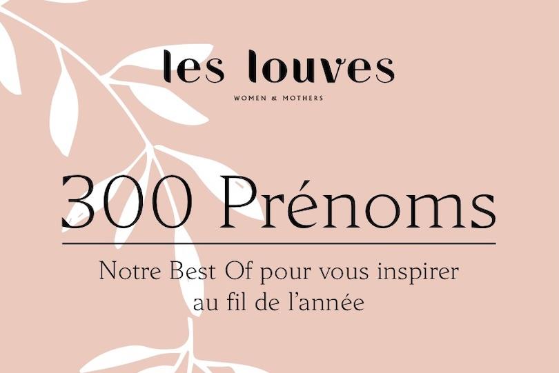 Le livre des prénoms des Louves – édition 2020